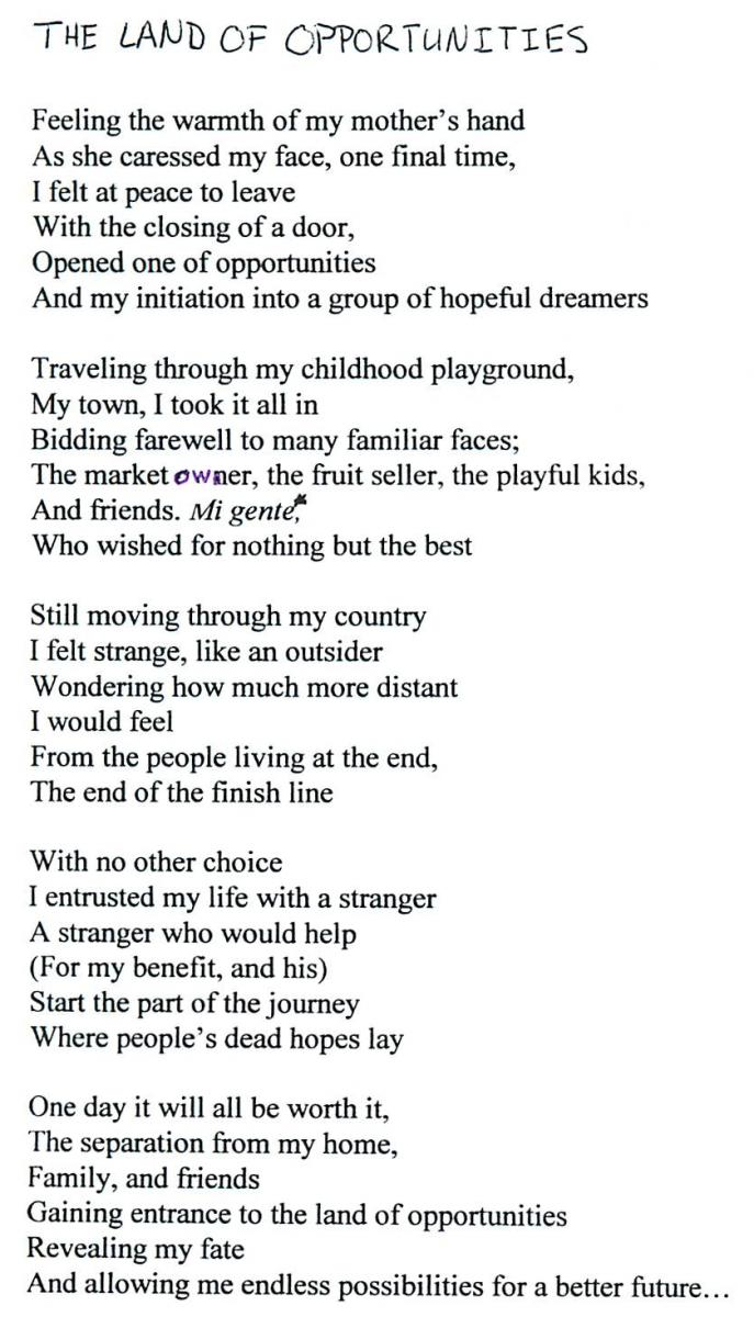 School Farewell Poems